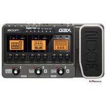 G3x Pedaleira Zoom Multi-efeitos P/ Guitarra G3 G3-x + Fonte