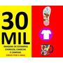 Estampas De Chinelos E Camisetas Em Vetores Pronto Imprimir