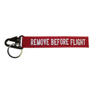 Chaveiro Remove Before Flight Frente/verso Aviação