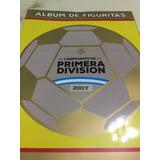 Album De Figuritas De Campeonato De Primera Division 2017