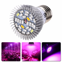 Kit X3 Led Cultivo Indoor Grow Light Full Espectro Ir Uv 28w