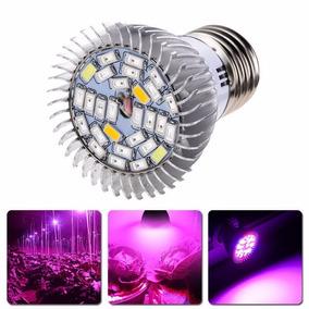 3 Focos Led Cultivo Indoor Grow Light Full Espectro Iruv 28w