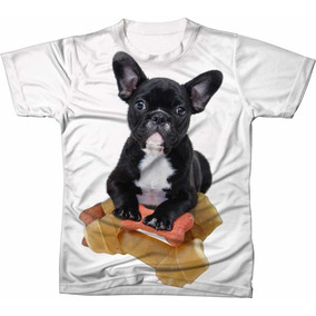 1289d7a93 Bulldog Franc s Buldogue Frances Camisetas Blusas Infantis ...