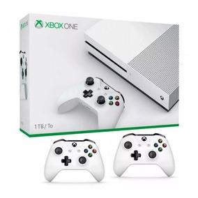 Video Game Xbox One S 1tb 4k Uhd 2 Controles Promoção!!!