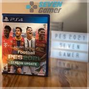 Pes 2021 Pes 21 Ps4 Juego Fisico Sellado Playstation 4