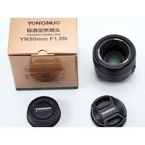 Lente Yongnuo - Yn 50mm F/ 1.8 Para Nikon