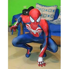 Traje Disfraz Spiderman Ps4 Cosplay Spider Man