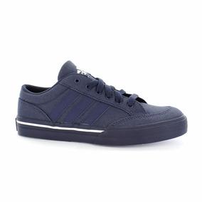 Tenis adidas Canvans Str Azul Marino Lona !envío Gratis¡