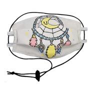 Cubrebocas Dreamcatcher Con Bolsillo  (4 Capas De Algodón)