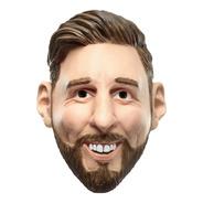 Máscara De Látex Messi Futbolista Famoso La Pulga
