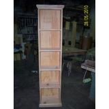 Biblioteca En Pino 40cm El Mejor Precio De Mercado Libre