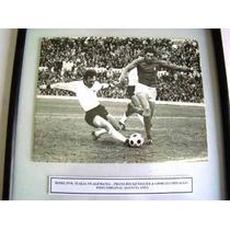 Futbol Beckenbauer Pre Mundial 74 - Fotografia Original