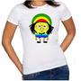 Baby Look Feminina Bob Marley Calça Quadrada Bob Esponja