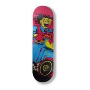 Shape Skate Push Crazy Driver Marfim 8.0 + Lixa Nacional