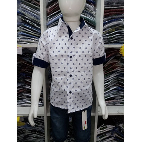Camisa Social Infantil Tam 2 A 14 Social Sedex Frete