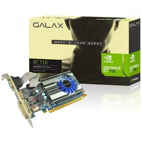 Gpu Geforce Galax Gt 710 2gb Ddr3 64 Bits Low