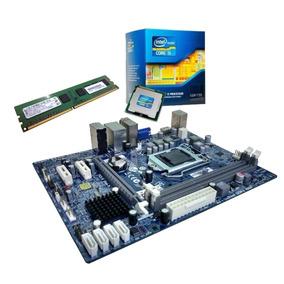 Kit Upgrade Placa Mãe + Processador I5 3.60ghz + Memória 4gb
