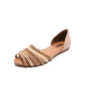 20bb919465 Rasteira Sandália Dakota Trançada Com Laço E Coração - Sapatos no ...