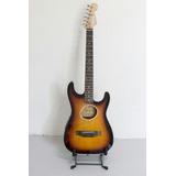 Guitarra Electroacústica Mccartney Sunburst Estilo Ovation