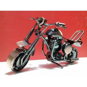 Miniatura Moto Vintage Metal Decoração Lindo Presente Natal