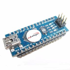 Arduino Nano V3.0 Atmega328 5v 16m Ch340g Pin Soldados