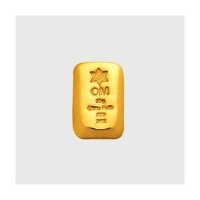 Barra Ouro Puro 24k - 999 - 50g Com Certificado De Pureza