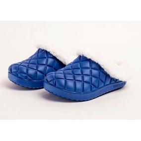 Crocs Con Corderito Modelo Cerrado Temporada Otoño-invierno