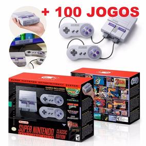 Snes Super Nintendo Classic Edition Mini Original + Brinde