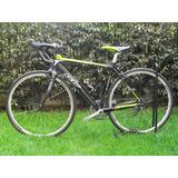 Bicicleta Gw Flamma En Aluminio -tenedor En Carbono Oferta!!