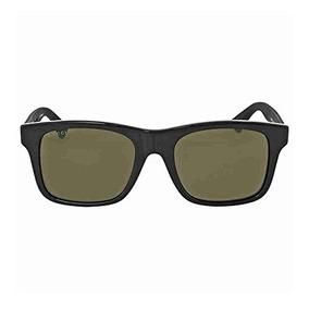 8c11f567ca Gucci 0008s 001 Negro 0008s Rectángulo Gafas De Sol Lente C