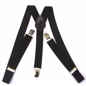 Suspensórios Masculino E Feminino Largo 2,5cm