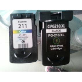 Canon Pg210 Y 211 Remanufacturado
