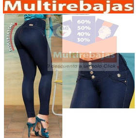 Jeans Levanta Cola Importados Super Altos 4 O 5 Botones