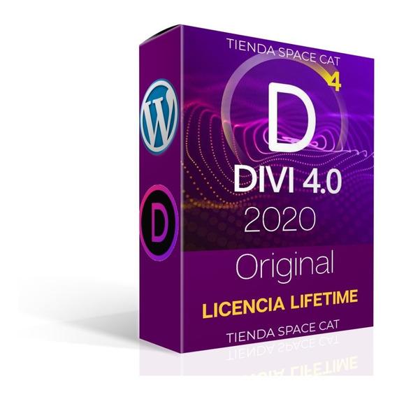 Tema Plugin Divi 4 Wordpress - Licencia X Vida + Addons Full