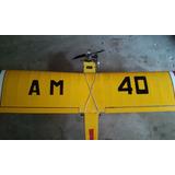 Avion Entrenador Ala Alta Completo