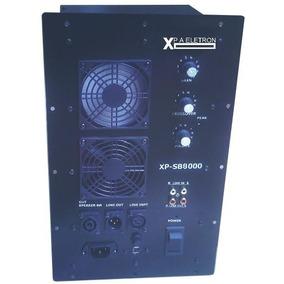 Amplificador Ativador Sb8000 Transforme Sua Caixa Passiva