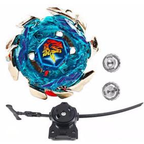 Beyblade Ferro Striker Blitz Unicorno 4d Lançador 2 Ponteira