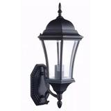 Kit 12 X Arandela Externa Lampião Colonial Vidro Bisotê 48cm