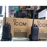 Radio Icom Ic-f3003 Vhf Original Nuevo