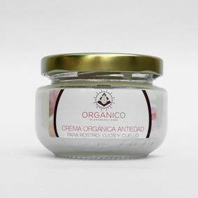 Crema Orgánica Antiedad (ojos, Cara, Cuello Y Escote)