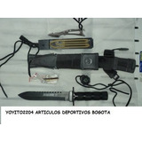 Cuchillo De Camping Yaccesorios,cauchera,paintball Airsoft
