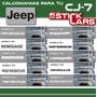 Jeep Cj5 Cj7 Calcomanias