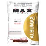 Albumina - Albumax 100% 500g Max Titanium