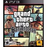 Gta Grand Theft Auto San Andreas Ps3 Digital