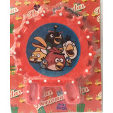 Vela Aniversario Tema Angry Birds Vermelha
