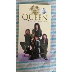 Box Queen Live Rhapsody Limitado E Numerado