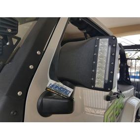 Espejos Con Barra De Led Direccional Jeep Wrangler Jk Sahara