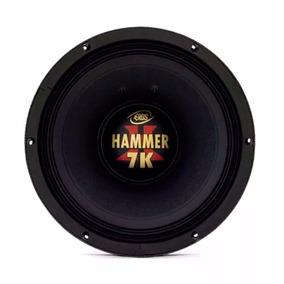 Alto Falante Woofer Eros 15 Pol 3500w Rms Hammer 7k 4 Ohms