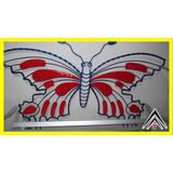 Silla Mariposa Artesanal En Hierro Forjado Adorno Diseño Hd