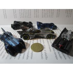 Coleccion 5 Batimovil Escala 1/64 Hot Wheels Batman Carro